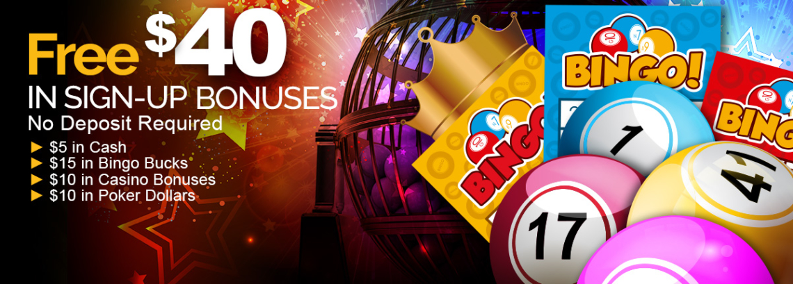 Free $40 in Registration Casino Bonuses